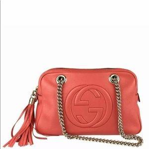 Gucci Bags - Authentic Gucci soho fringe Chain Shoulder